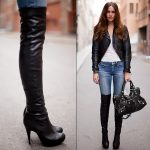 How to Wear Over Knee Boots Stylishly