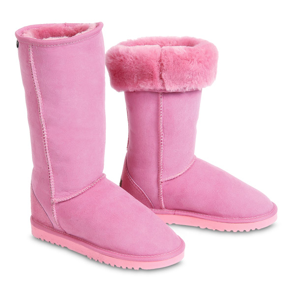 pink boots – 9