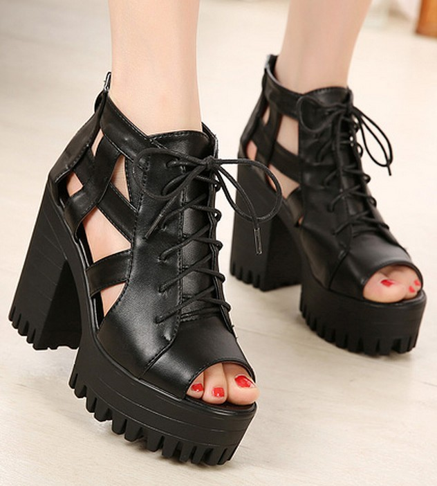 Black Platform Shoes For Women | Select Your Shoes