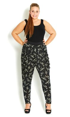 8df189538c5 If that is the case with you then do not hesitate in designing your own  outfits with a pair of plus size harem pants.