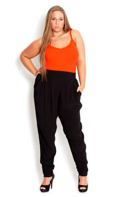 plus size harem pants – careyfashion