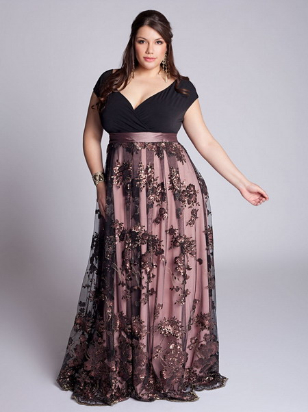 How To Accessorize Plus Size Long Dresses Careyfashion