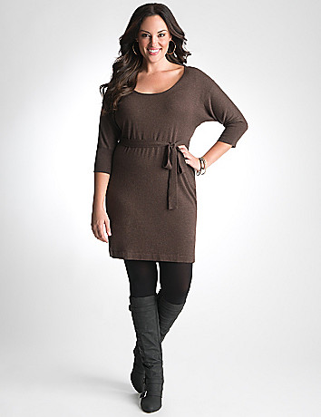 Plus Size Sweater Dress 8 Careyfashion