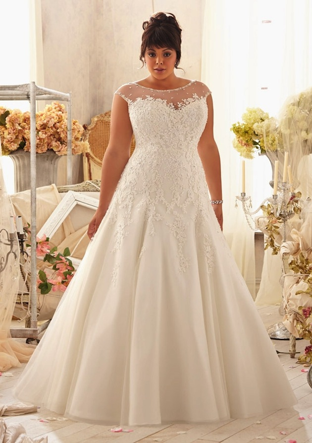 Top 3 Myths About Plus Size Wedding Dresses Careyfashion
