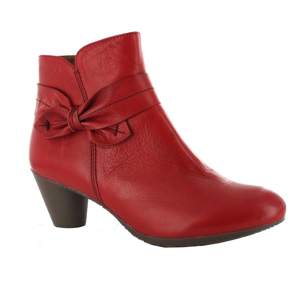 What to Wear with Red Ankle Boots – careyfashion.com