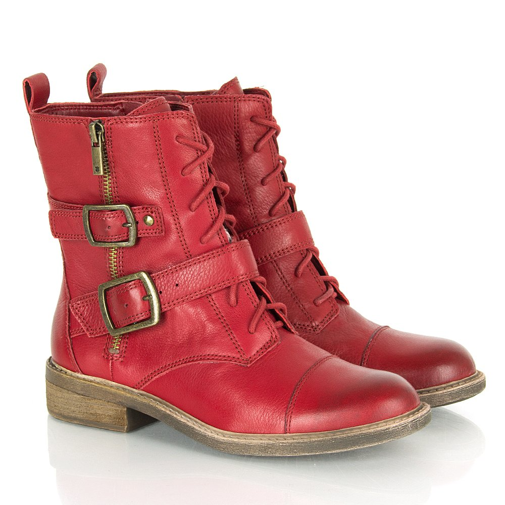 What To Wear With Red Ankle Boots Careyfashion Com