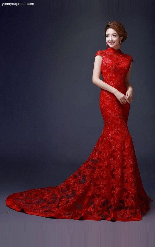 red wedding dresses – 4 – careyfashion.com