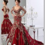Shoes to Wear with Red Wedding Dresses