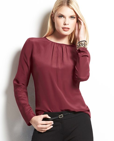 09421a82add034 Try out a plain white silk blouse and a white skirt but add some dazzle  with sequins or glitter!