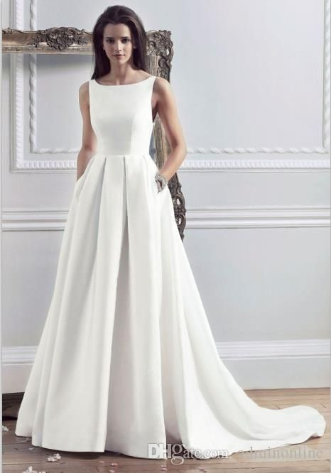 How to Pick A Simple Wedding Dress – careyfashion.com