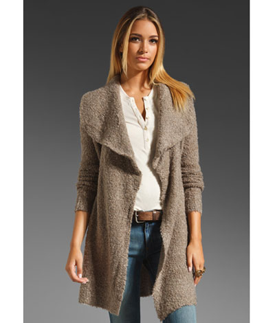 Bring Sweater Coats to Your Wardrobe for a 2 in 1 Effect ...