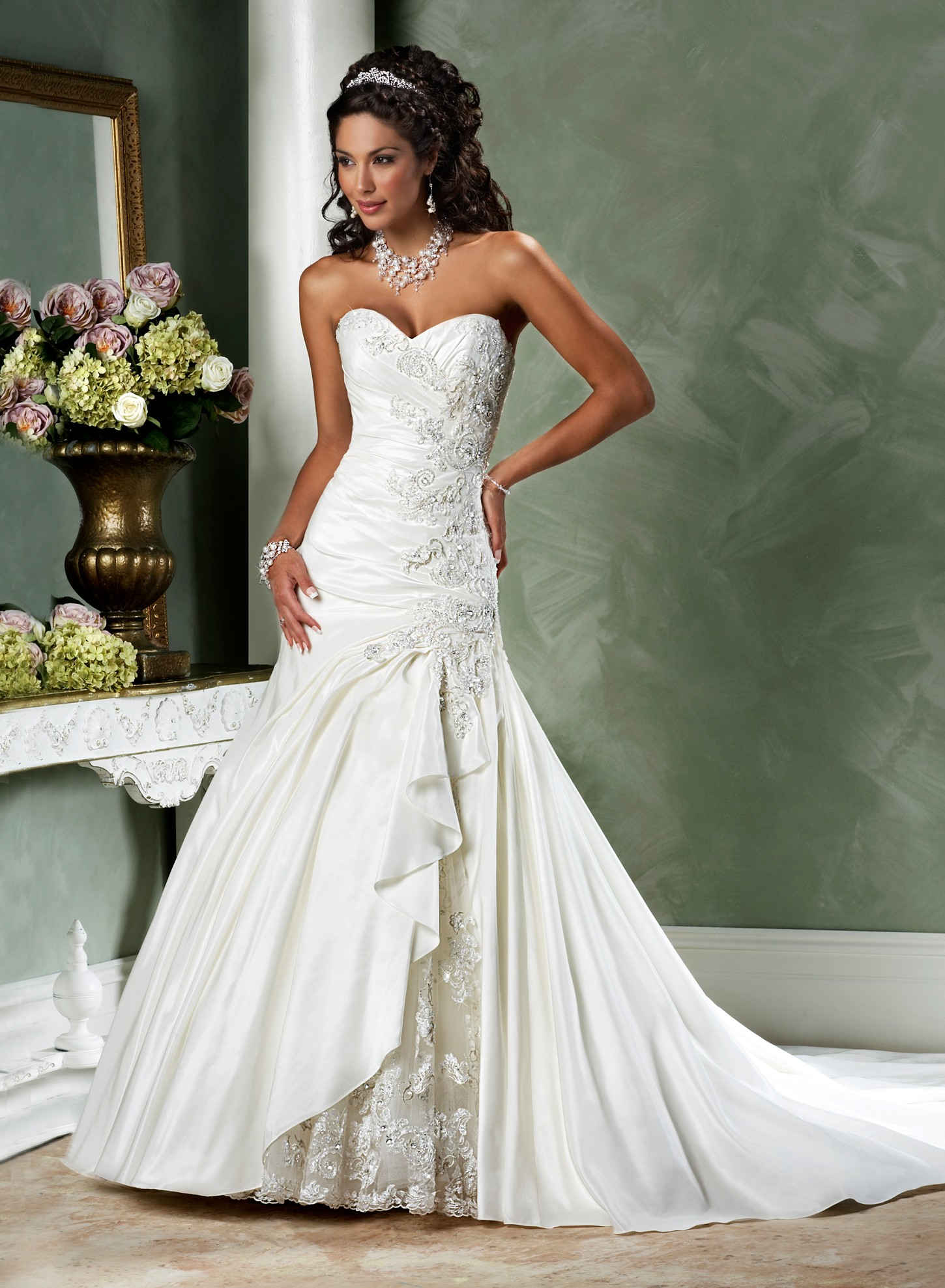 Types of sweetheart wedding dresses for What kind of dress do you wear to a wedding