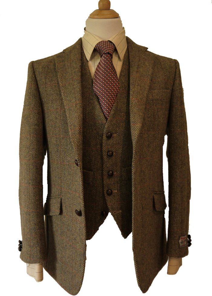 what to wear with tweed jacket