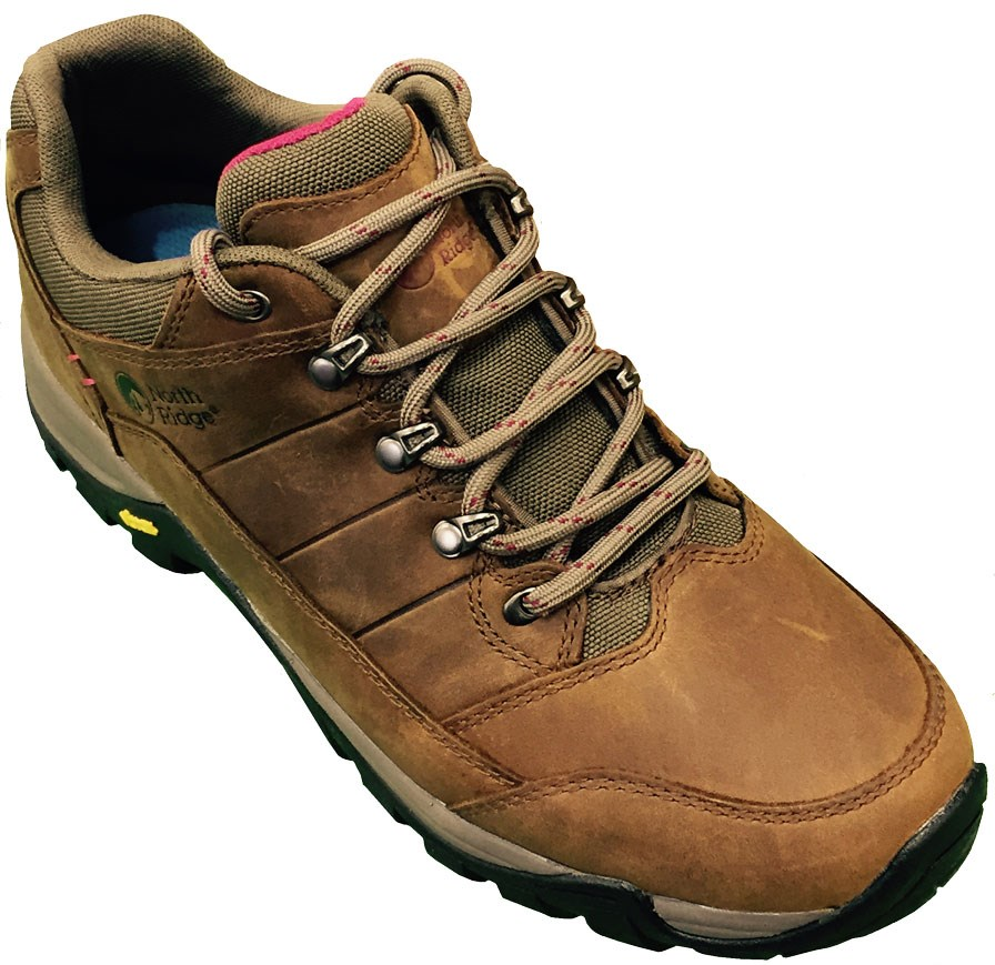 Brown Walking Shoes