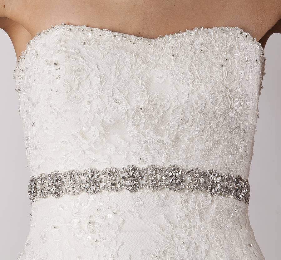 Wedding Dress Belts 8