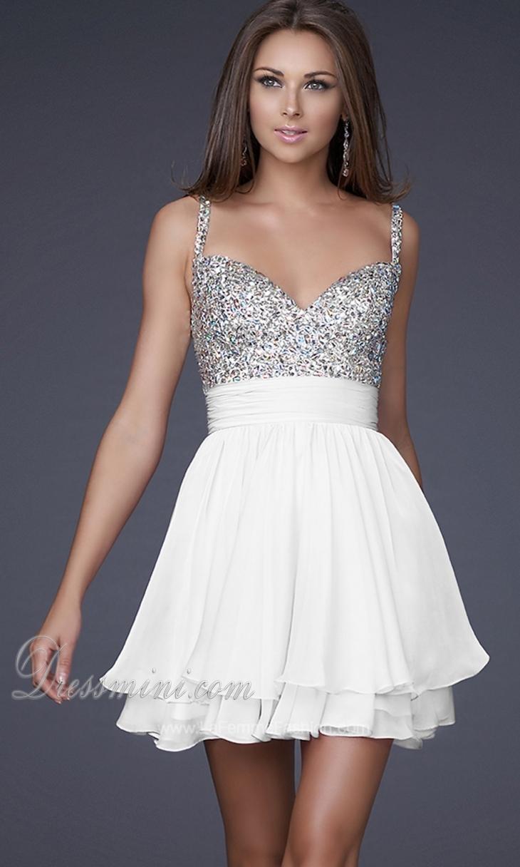 White Cocktail Dress – Leggings Or Nope? – careyfashion.com