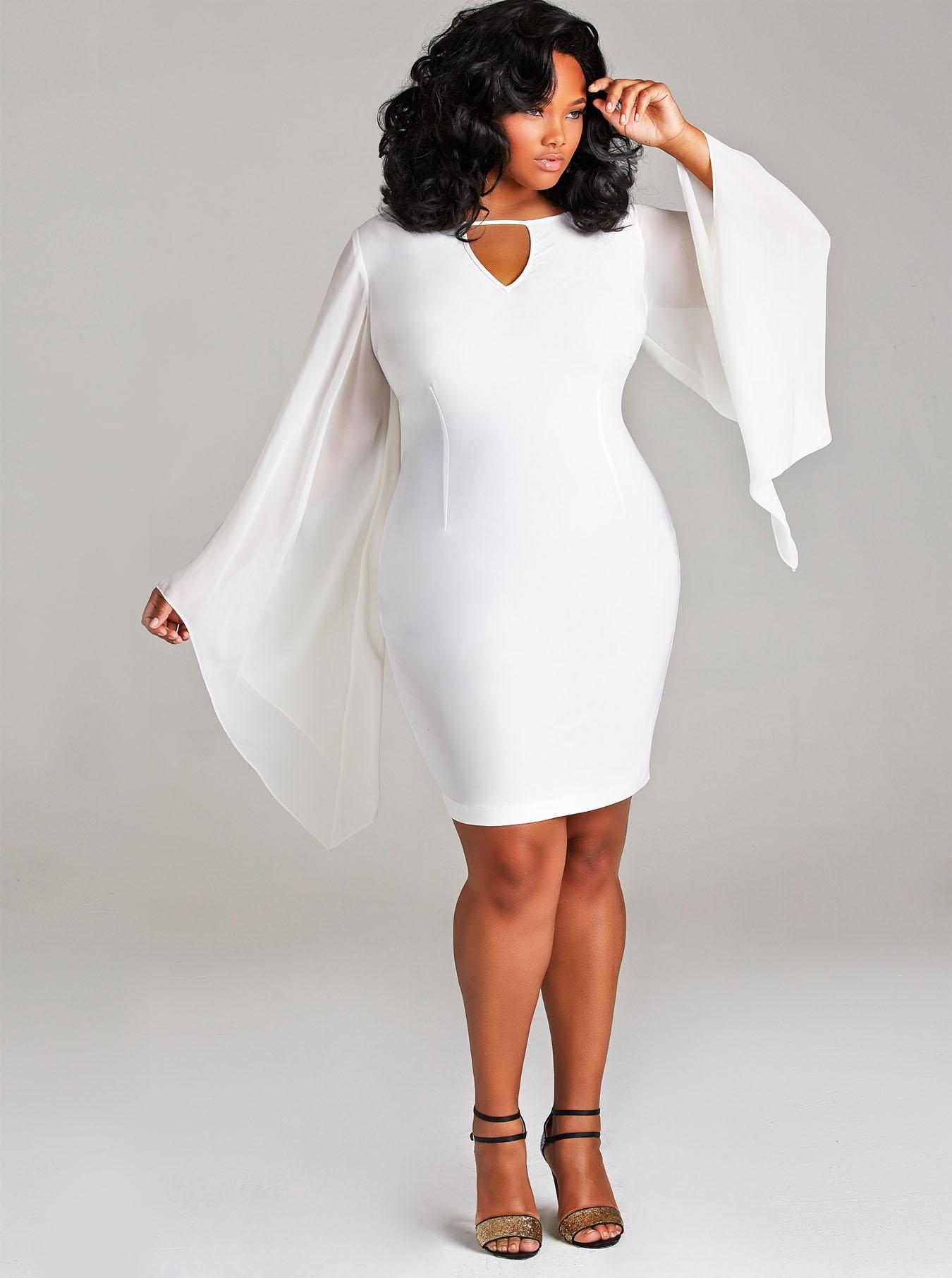 How To Accesorize White Plus Size Dresses Careyfashion