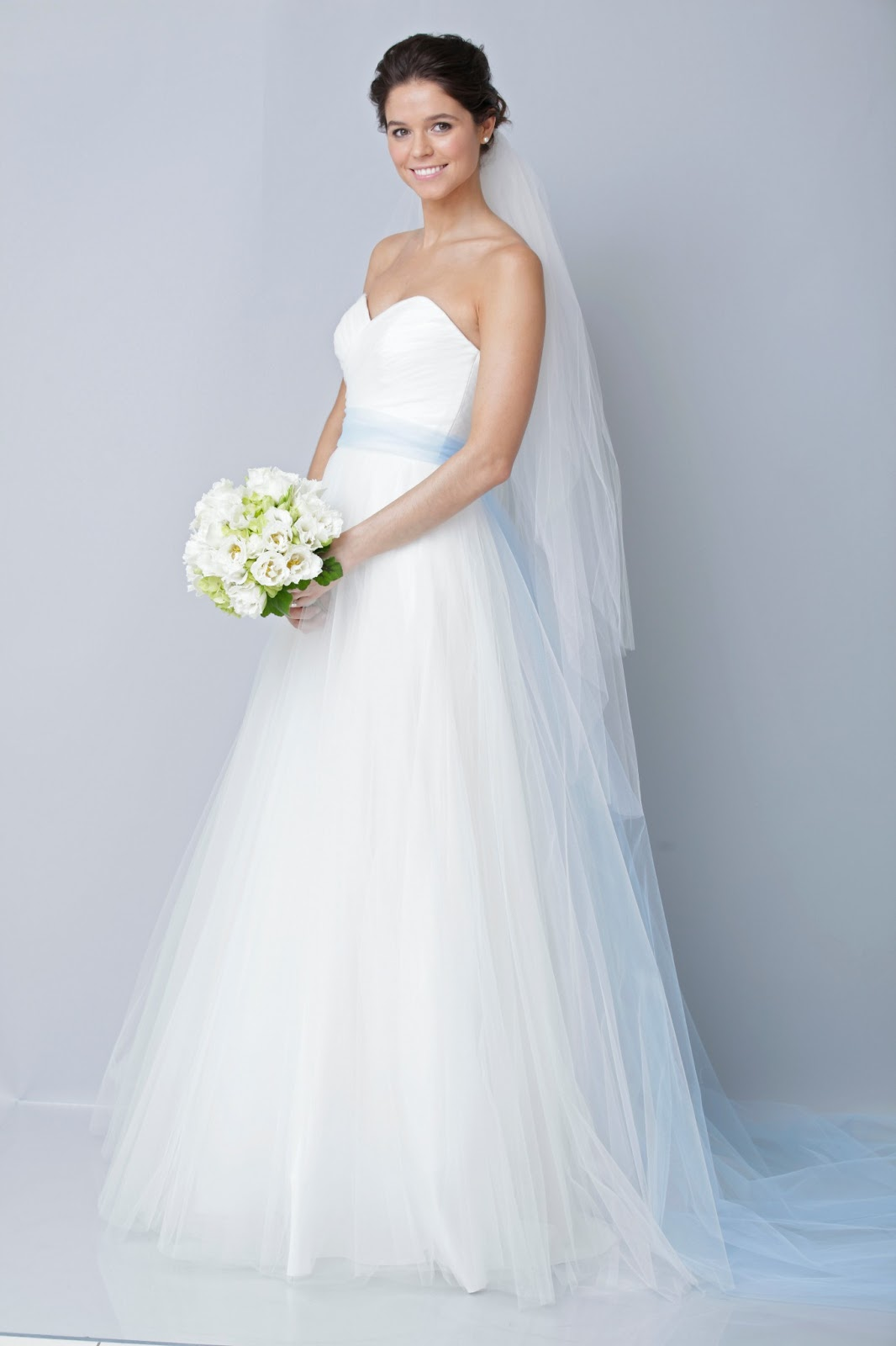 White Wedding Dress – Types of Necklines – careyfashion.com