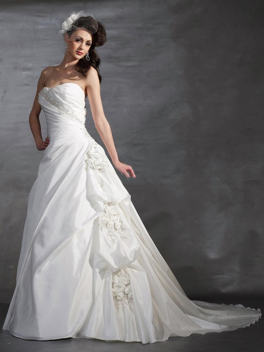 White wedding dress types of necklines Wedding dress neckline types