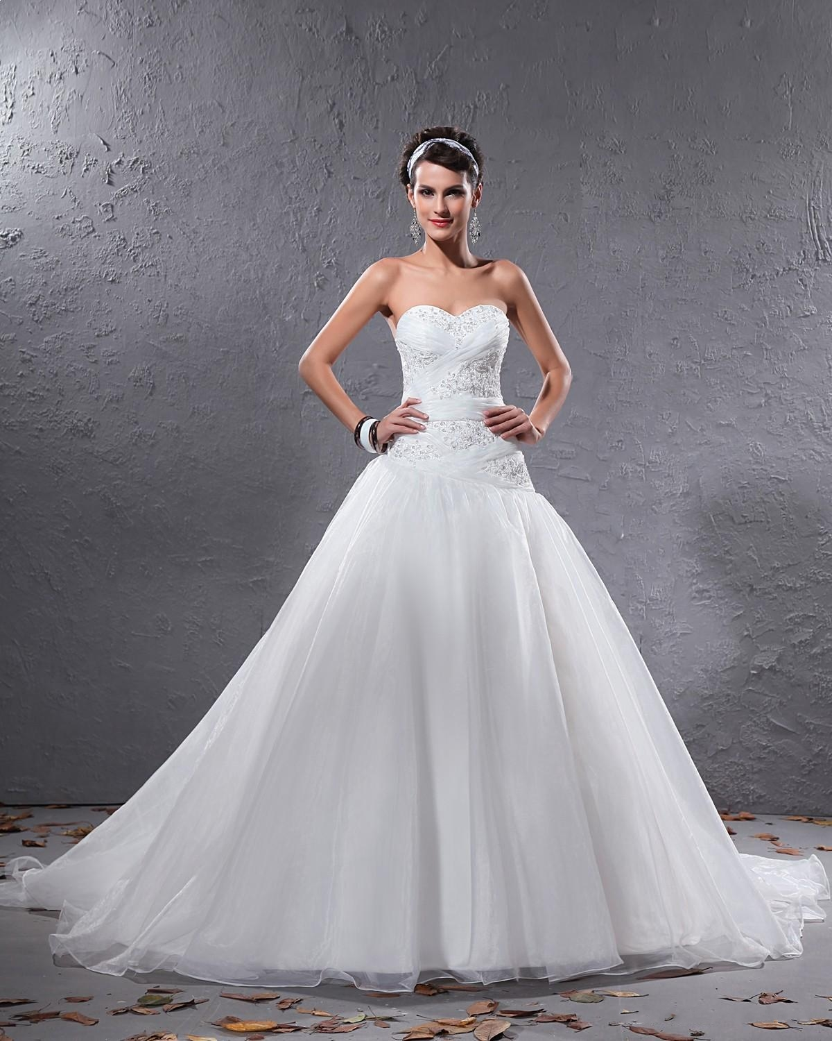 Wedding Dress Types: White Wedding Dress