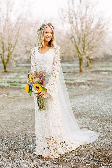 You Can Never Compete With Fall Wedding Dresses That Have A Plunging V Neckline Necks Are Special In Their Own Way And There Is Nothing Beat