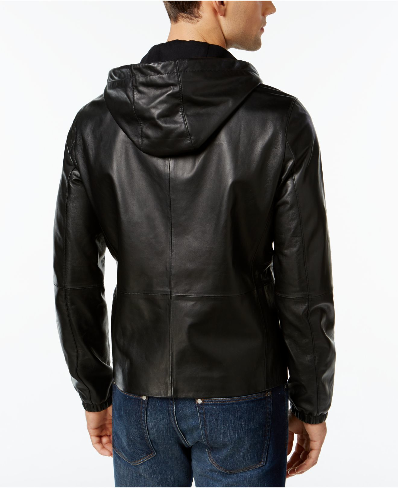 Leather Hoodie: Perfect for Rainy and Wet Days