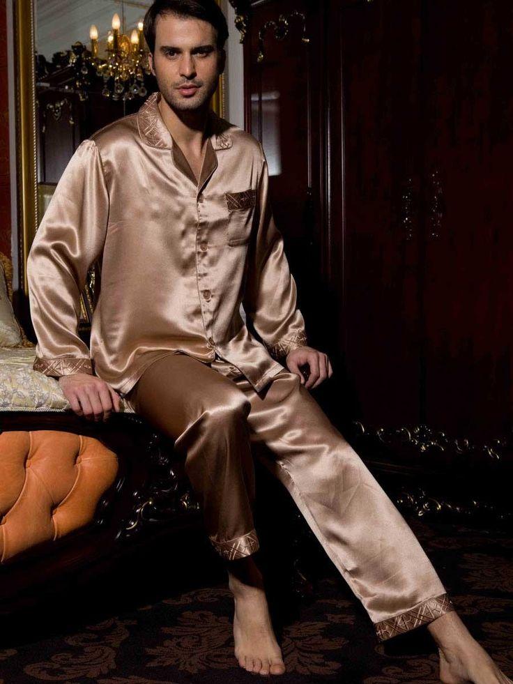 Advantages of Wearing Mens Silk Pajamas