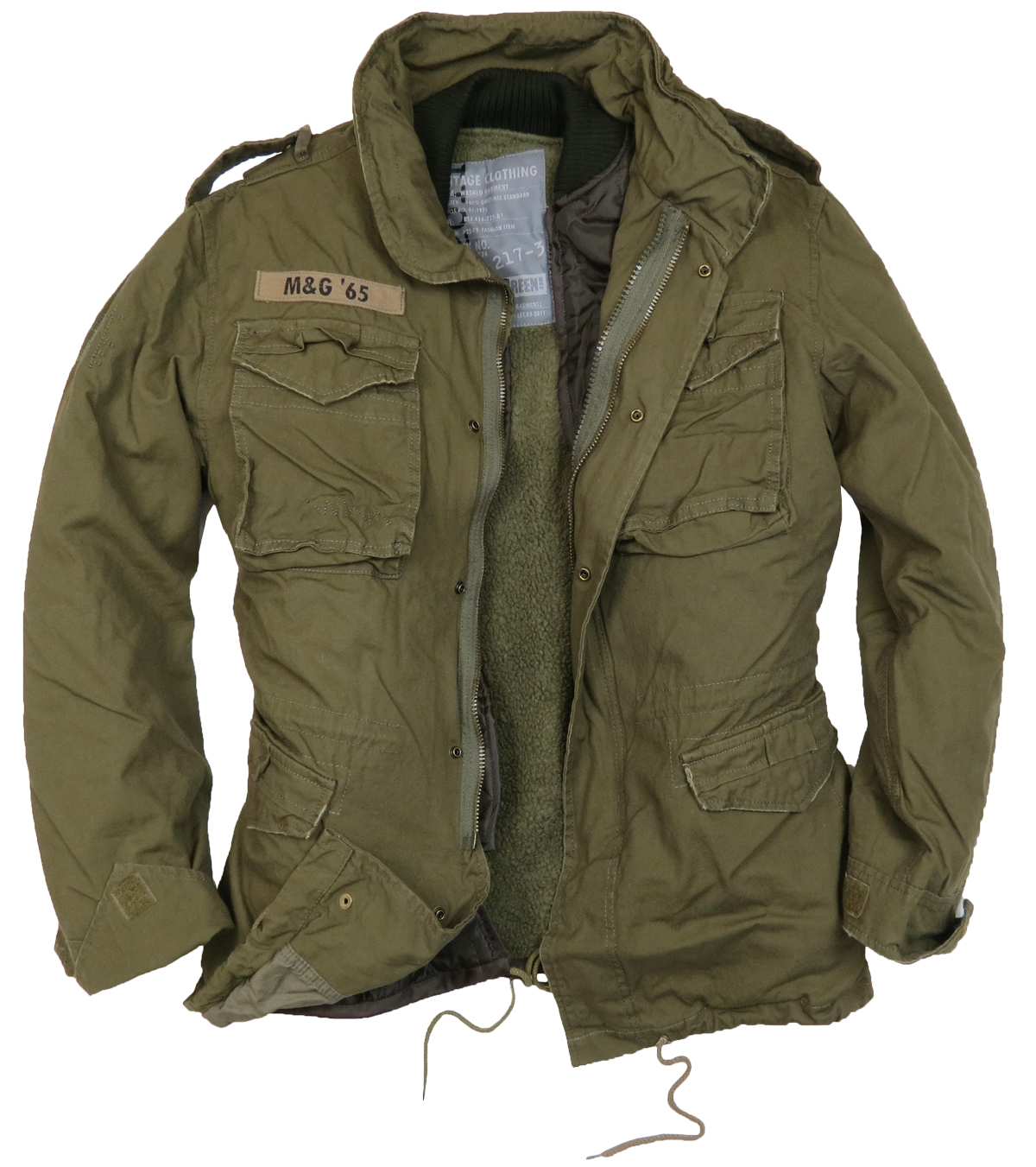 How to Wear A Military Style Jacket