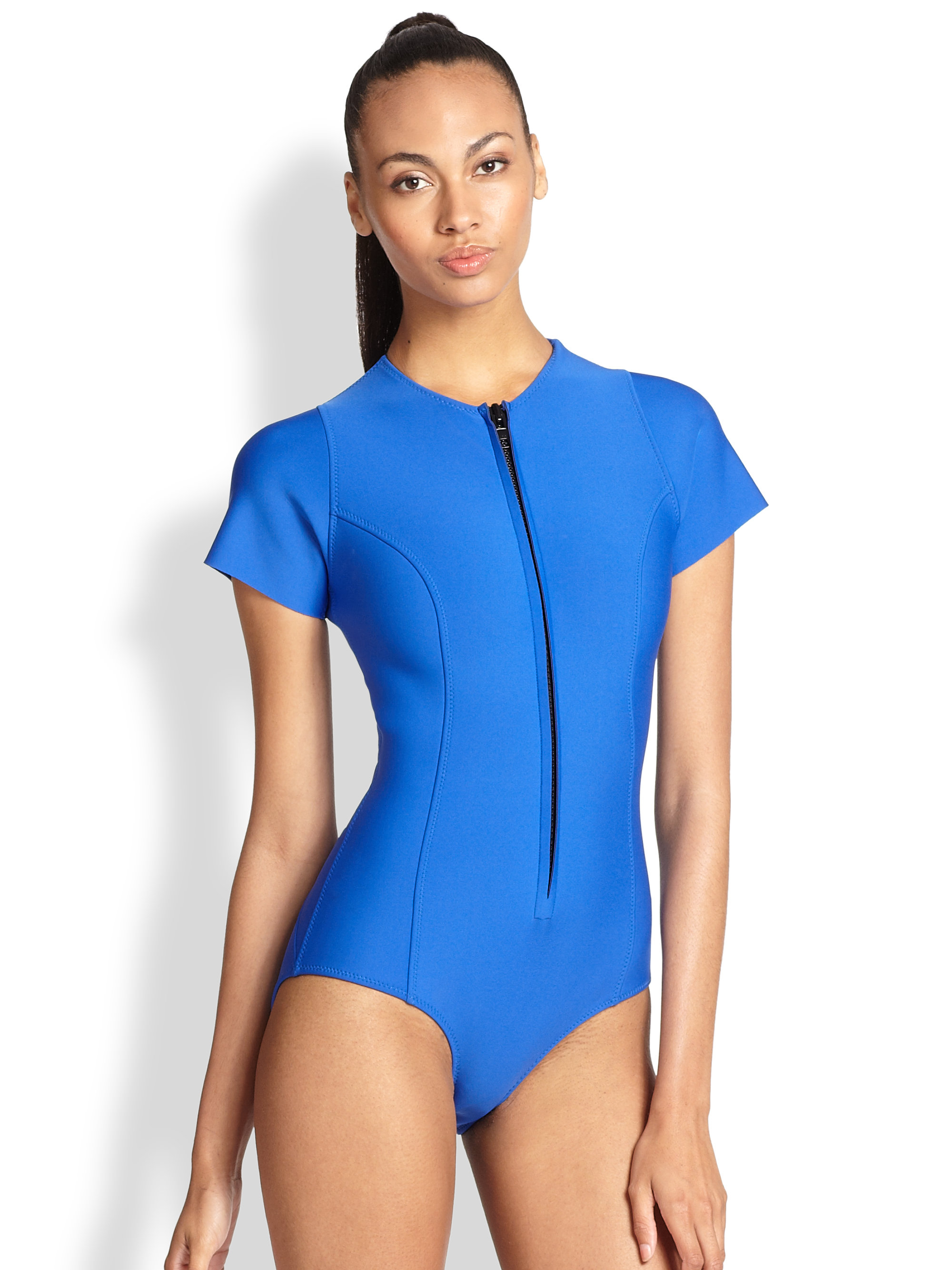 Neoprene Swimsuit: The Step Over One Pieces