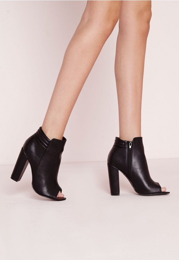 open toe ankle boots australia
