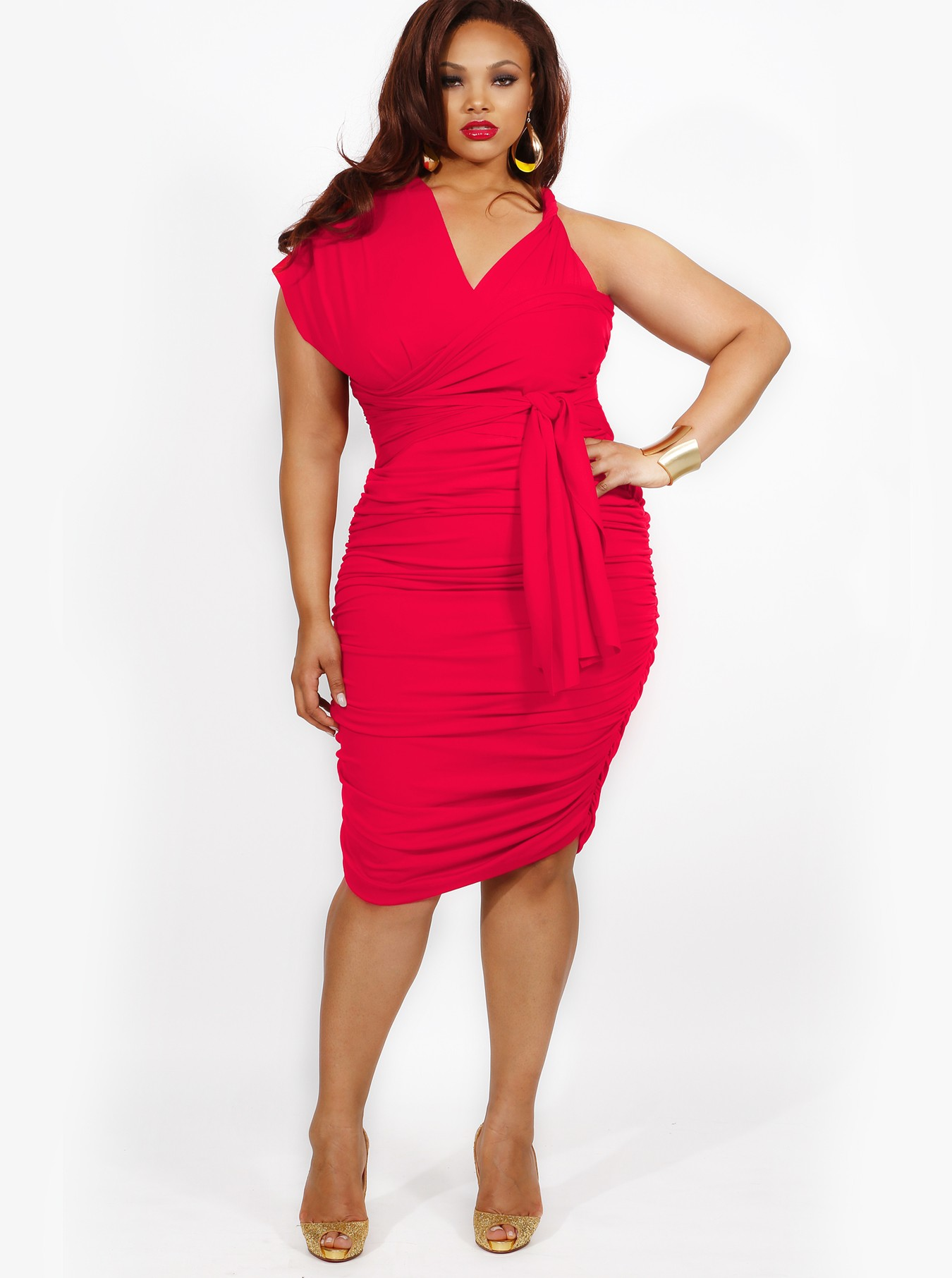Plus Size Red Dress Vs Little Black Dress Carey Fashion