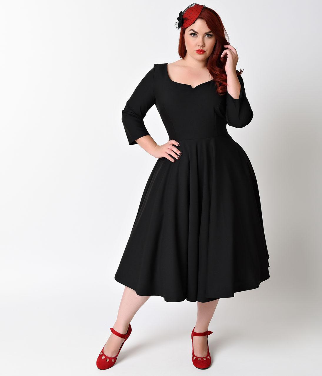 Where to Shop Plus Size Vintage Dresses