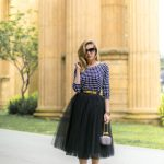 How to Wear A Black Tulle Skirt Professionally
