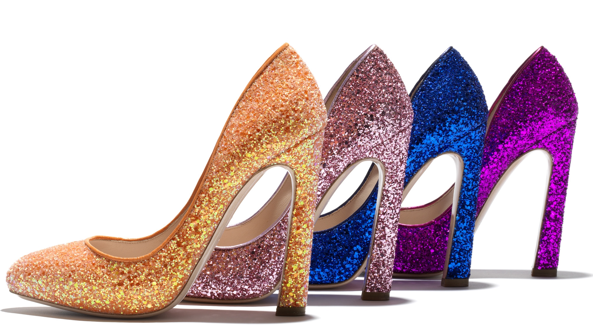 How to DIY Your Own Glitter Pumps