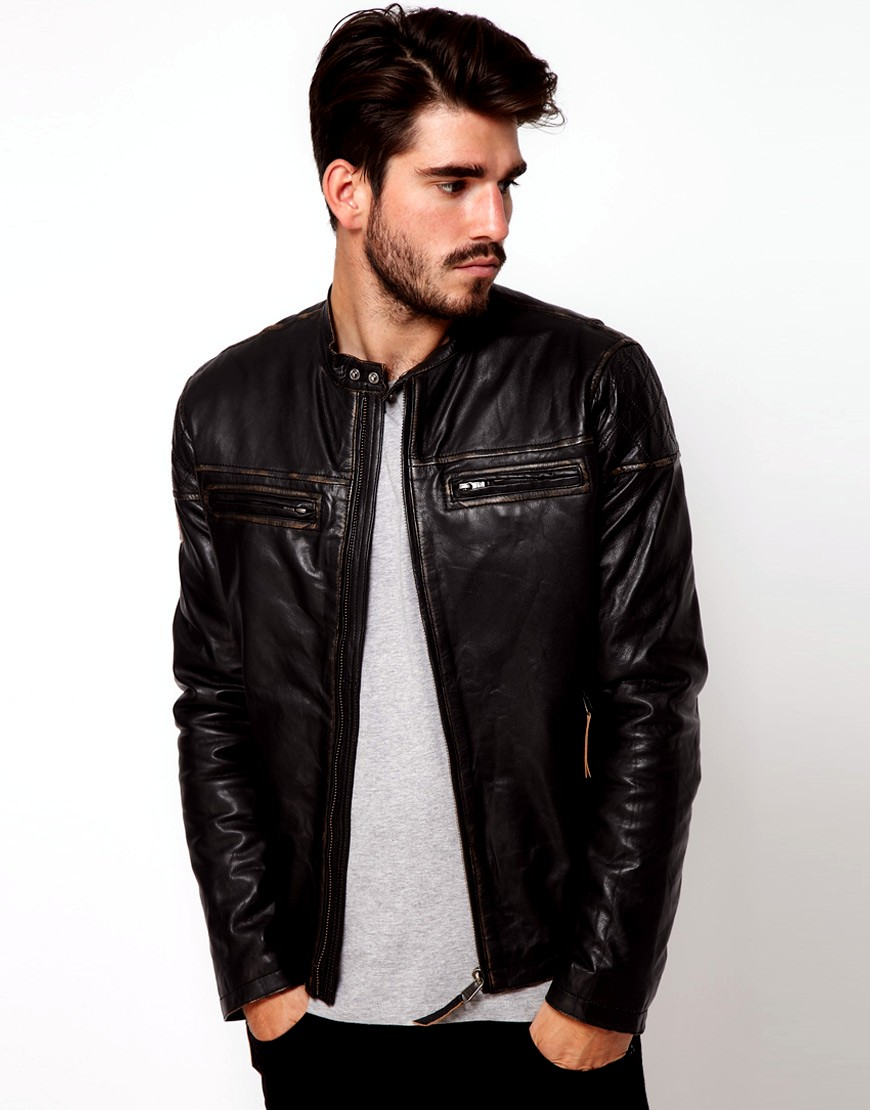 The Best Ways to Wear A Leather Jacket for Men