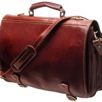 Leather Messenger Bag: Contemporary Vintage Ensembles