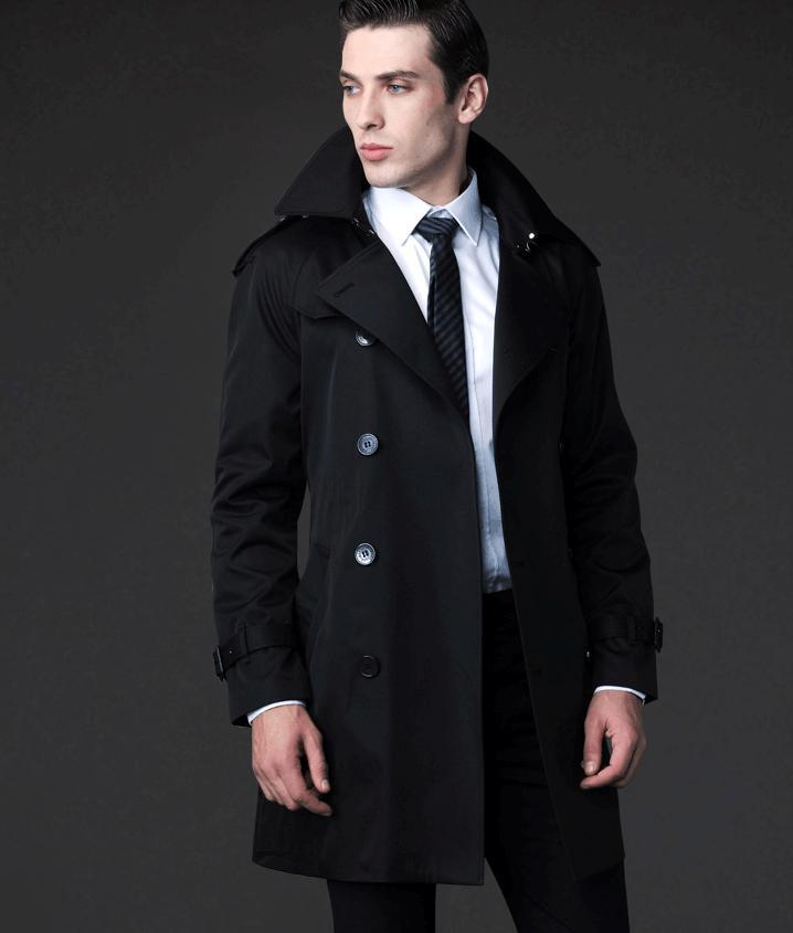 How to Wear Mens Long Coat