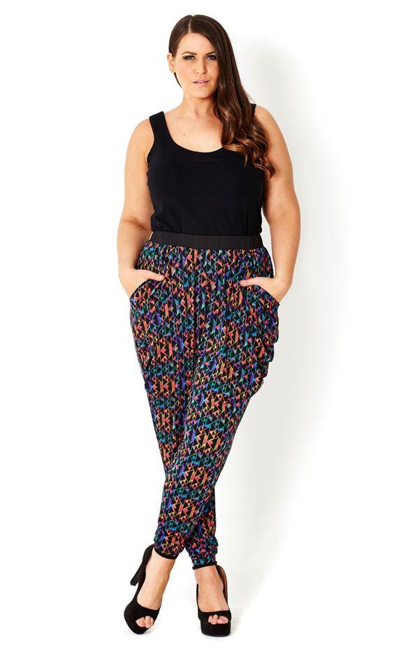 Plus Size Harem Pants – A Style Guide