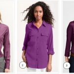 How to Expertly Wear A Purple Blouse