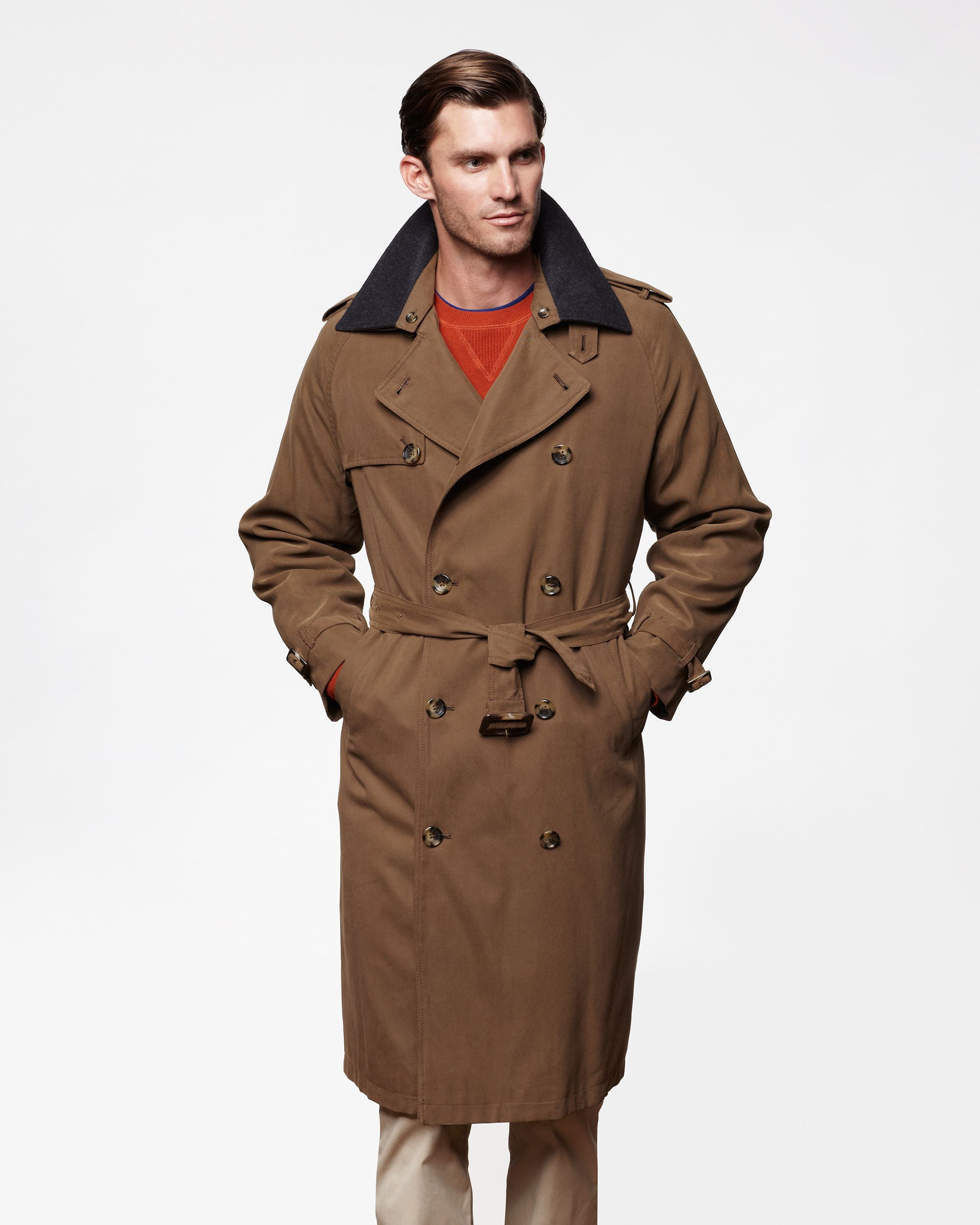 Trench Coat for Men Outfit Ideas
