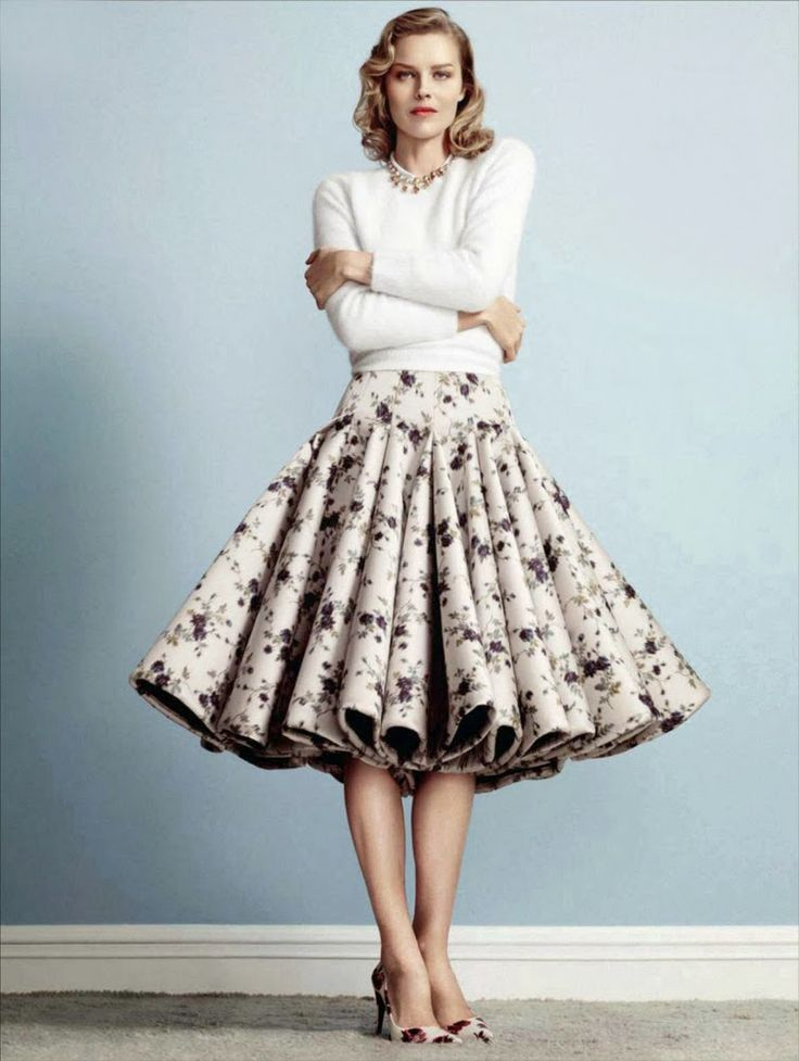 Vintage Skirts – What Are They Best Paired With