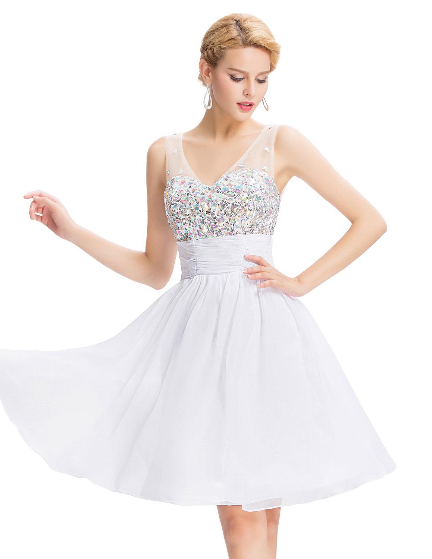 White Cocktail Dress – Leggings Or Nope?