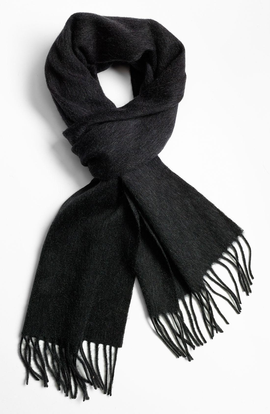 3 Styles to Wear Wool Scarves