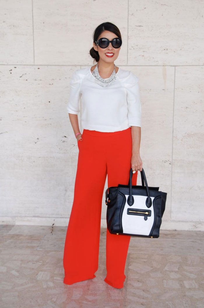 15 ways to wear wide leg pants in 2021