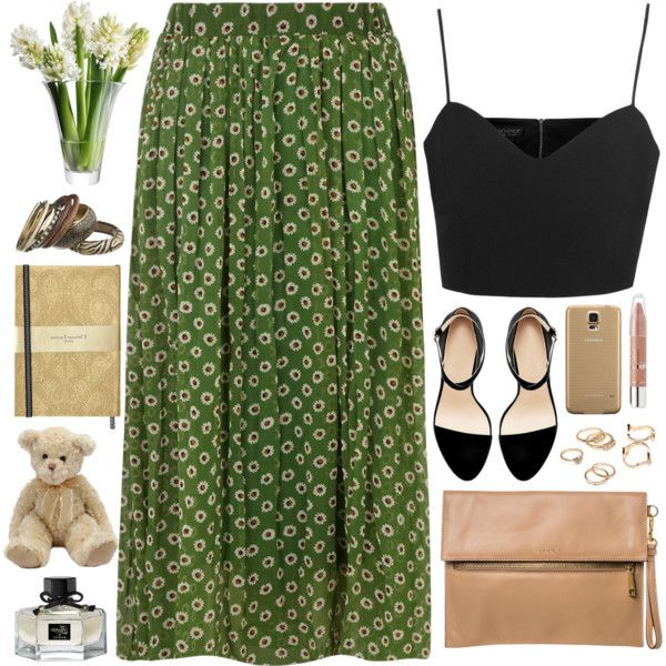 Which tops and shoes to wear with long skirts in 2021