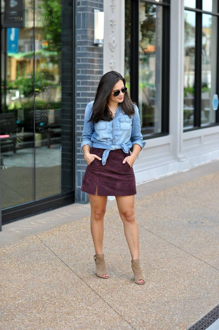 How to wear mini skirt 2021 now