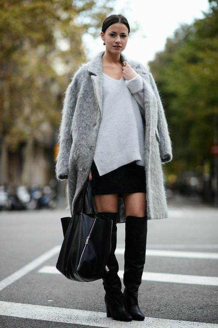 Knee high boots best street style 2021