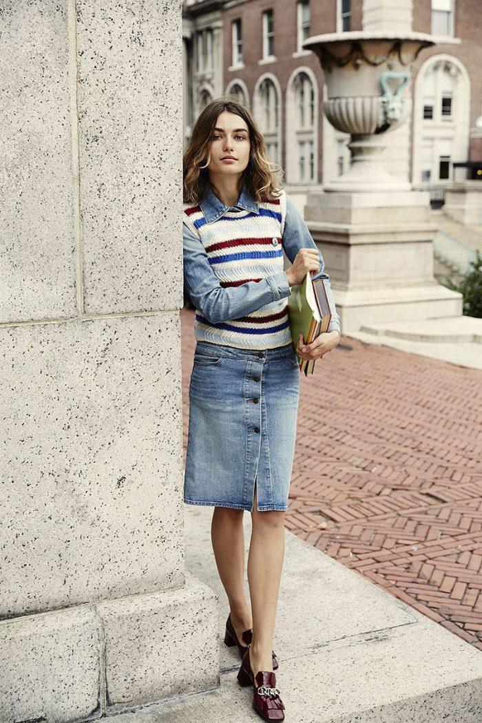 How to Make a Denim Skirt Look Awesome 2021