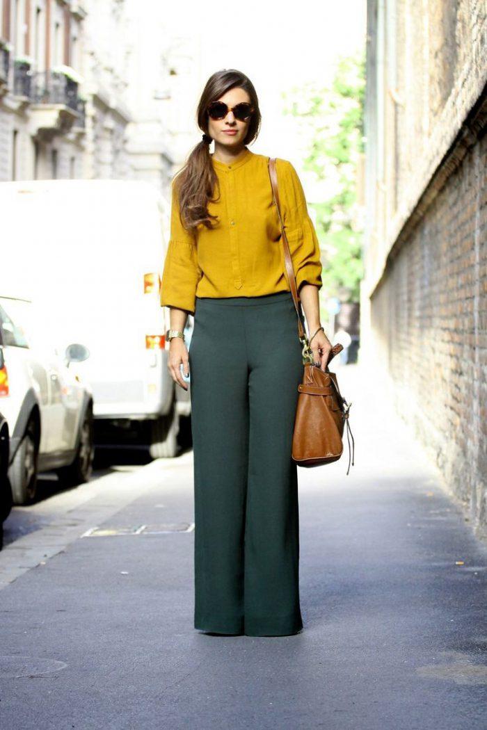 Can I wear Palazzo Pants: Street Style Ideas 2021