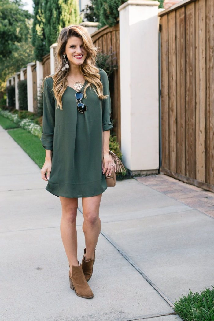 Dresses with ankle boots 2021